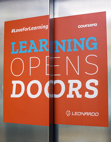 Love for Learning. Leonardo Company